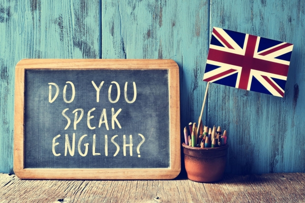 Why learn English in England